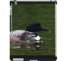 Loons of August iPad Case/Skin