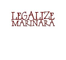 Legalize Marinara Photographic Print