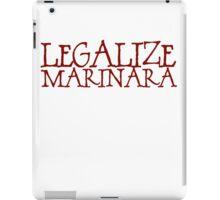 Legalize Marinara iPad Case/Skin