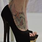 Heels With The Dragon Tattoo  by CreativeEm