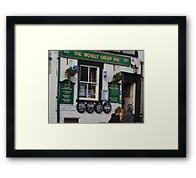 Pub In Skipton Yorkshire, Framed Print