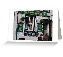 Pub In Skipton Yorkshire, Greeting Card