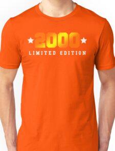 2000 Limited Edition Birthday Shirt Unisex T-Shirt