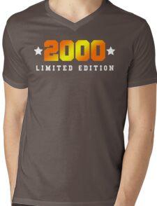 2000 Limited Edition Birthday Shirt Mens V-Neck T-Shirt