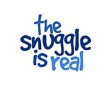 The snuggle is real Photographic Print