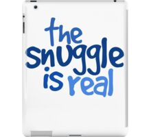 The snuggle is real iPad Case/Skin