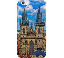 Tyn Church in Prague iPhone Case/Skin