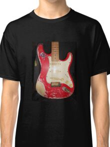 Red Guitar Classic T-Shirt