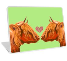 Cow Love Laptop Skin