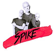 Spike (James Marsters) Photographic Print