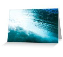 Wave Greeting Card