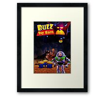 Toy Story Buzz And Woody Framed Print