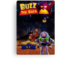 Toy Story Buzz And Woody Canvas Print