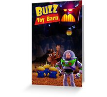 Toy Story Buzz And Woody Greeting Card