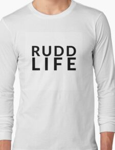 RUDD LIFE Paul Rudd Long Sleeve T-Shirt