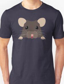 Cute peeking pet RAT Unisex T-Shirt
