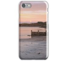 Abersoch Machroes beach and old lifeboat station iPhone Case/Skin