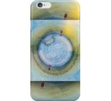 Courage to Lose Sight of the Shore Orb Mini World iPhone Case/Skin