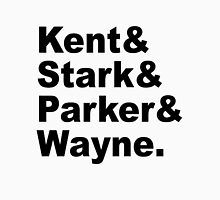 Kent&Stark&Parker&Wayne. Unisex T-Shirt