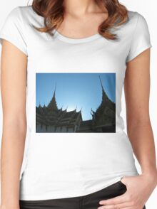 Bangkok Temples Women's Fitted Scoop T-Shirt