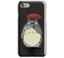 Totoro Snow fall iPhone Case/Skin