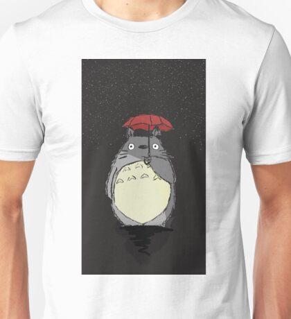 Totoro Snow fall Unisex T-Shirt