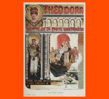 Les Affiches Illustrees 1886 1895 Ouvrage Orne de 64 Ernest Maindron Jules Cheret 1896 0235 Theodora Kids Tee