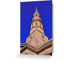 St Philips Episcopal Greeting Card