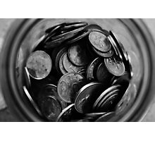 Coins Photographic Print