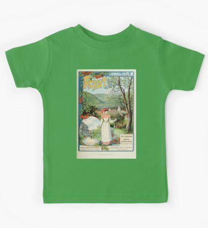 Les Affiches Illustrees 1886 1895 Ouvrage Orne de 64 Ernest Maindron Jules Cheret 1896 0201 Royat Kids Tee