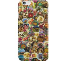 GALLIMAUFRY ~ Cafe Creme Covers Collection Collage by tasmanianartist iPhone Case/Skin