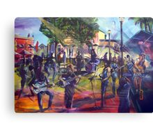 Blues at the Macquarie Arms Hotel Canvas Print