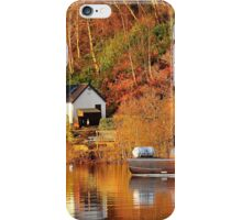 Mail Boat,Balmaha,Loch Lomond,Scotland. iPhone Case/Skin