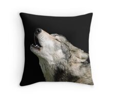 The Jubilation Of The Wolves Throw Pillow