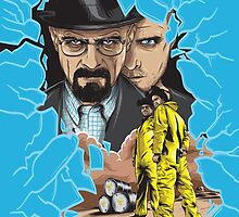 Breaking Bad by denisosulli
