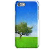 With Nature. [IllustratedType] iPhone Case/Skin