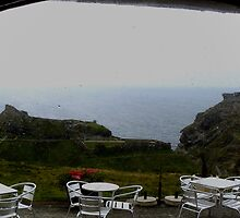 Camelot Castle Hotel - Tintagel, UK by Deb Gibbons