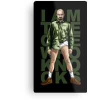 Walter Knocks Metal Print