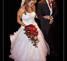 The Bride & Father by Ian Yarrow