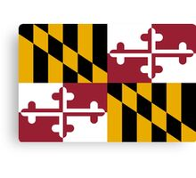 State Flags of the United States of America -  Maryland Canvas Print