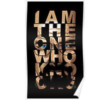Walter White Knocks Poster
