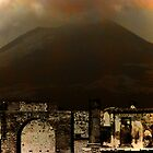 Mt Vesuvius and Pomeii Ruins, Italy by Deb Gibbons