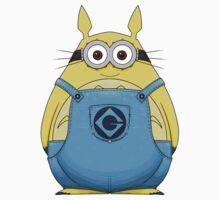 Minion Totoro Baby Tee