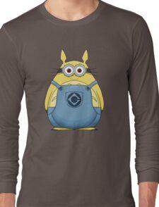 Minion Totoro Long Sleeve T-Shirt