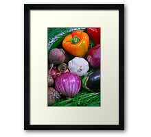 Food Framed Print