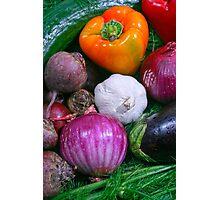 Food Photographic Print