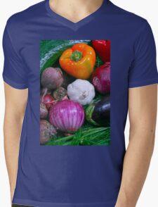 Food Mens V-Neck T-Shirt
