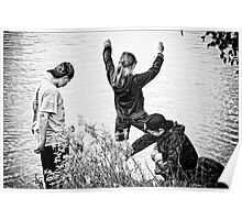 Kids at Play Poster