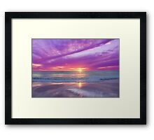 The Children's Beach Framed Print