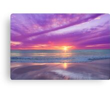 The Children's Beach Canvas Print